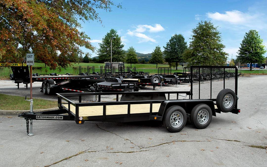 Utility Trailer 6 ft 10 inch x 16 ft (Rear Gate)