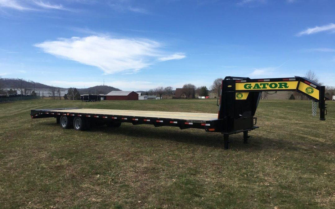 Gooseneck Air Ride Trailer